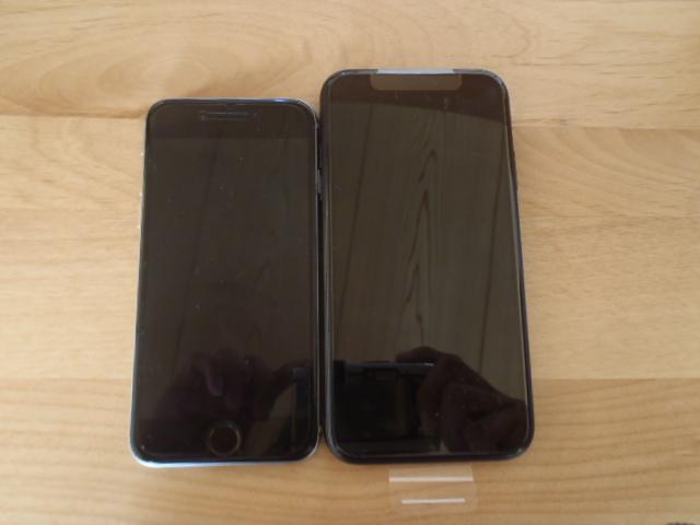 新型iPhoneXRサイズ
